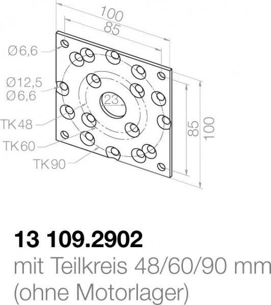 Elero Grundplatte 13109.2902