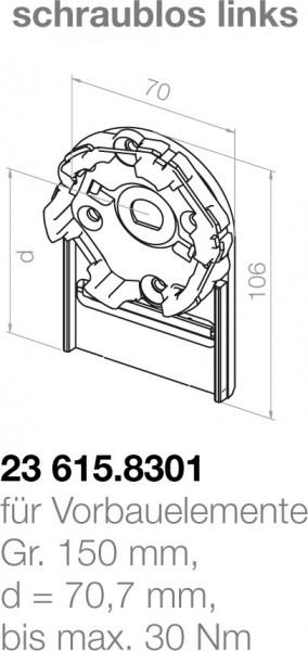 Elero Motorlager 23615.8301