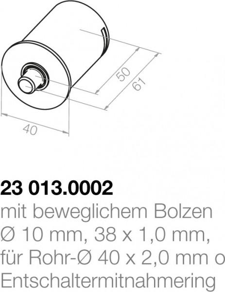 Elero Achsträgerlager 23013.0002