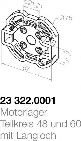 Elero Motorlager 23322.0001