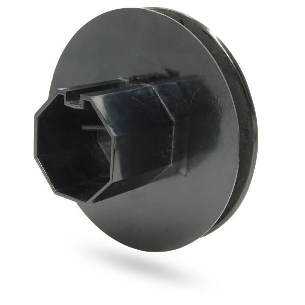 Rolladen Gurtscheibe | Minigurt 16mm | SW60 8-Kantwelle mit Bolzen