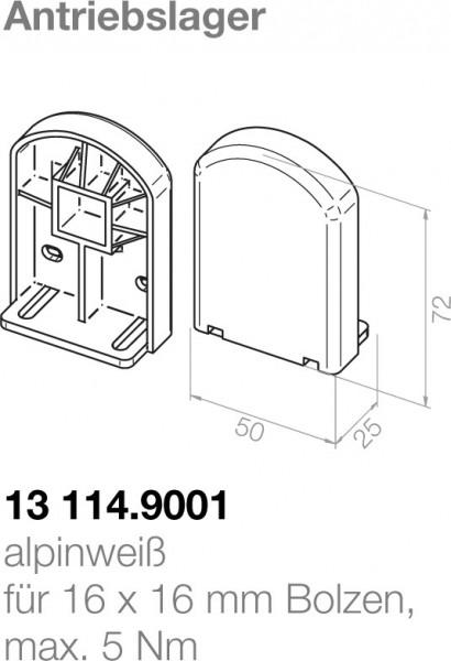 Elero Antriebslager 13114.9001