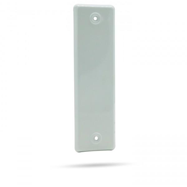 Rolladengurt Abdeckung geschlossen | Weiß