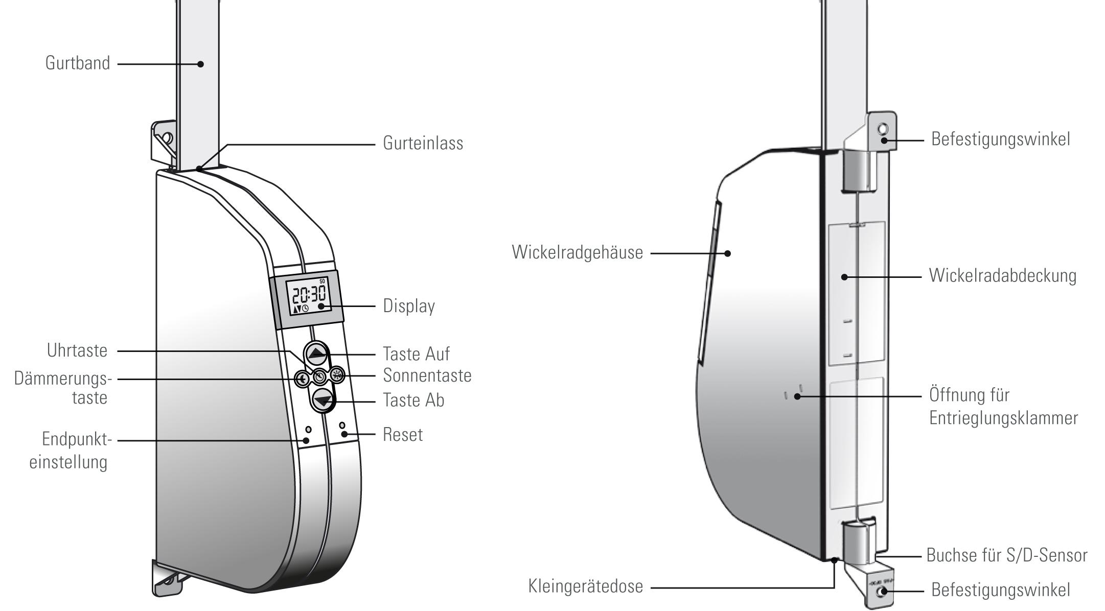 elektrischer Gurtwickler eW940-F