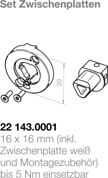 Elero  Motorlagerplatte 22143.0001