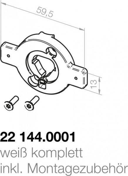 Elero  Motorlagerplatte 22144.0001