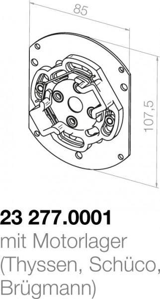 Elero Motorlager 23277.0001