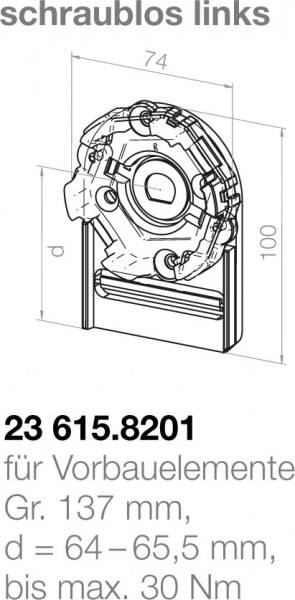 Elero Motorlager 23615.8201