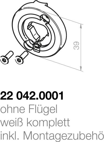 Elero  Motorlagerplatte 22042.0001