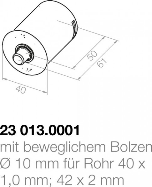 Elero Achsträgerlager 23013.0001