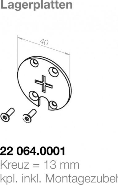 Elero Zwischenplatte 22064.0001