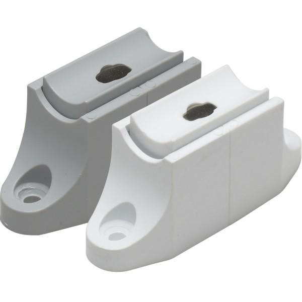 Kurbelhalter Markisenkurbel Magnet | Grau oder Weiß
