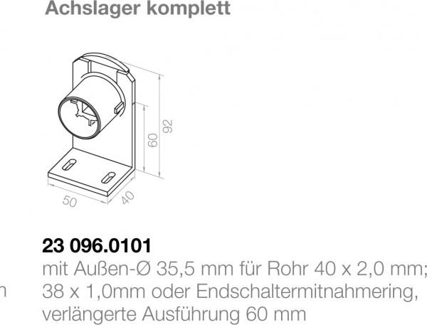 Elero Achslager 23096.0101