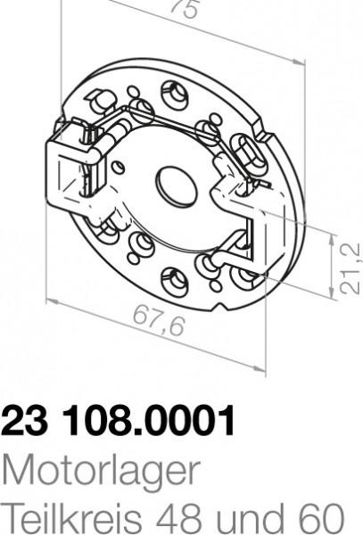 Elero Motorlager 23108.0001