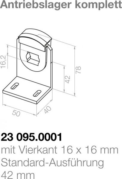 Elero Antriebslager 23095.0001