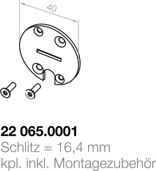 Elero Zwischenplatte 22065.0001