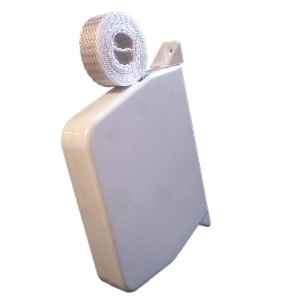 Mini Gurtroller mit 5 m grauem Gurt