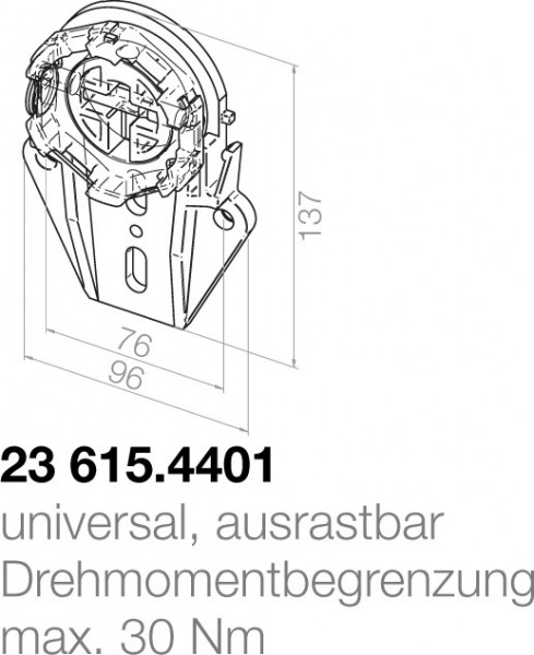 Elero Motorlager 23615.4401