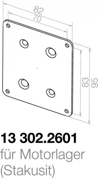 Elero Montageplatte 13302.2601