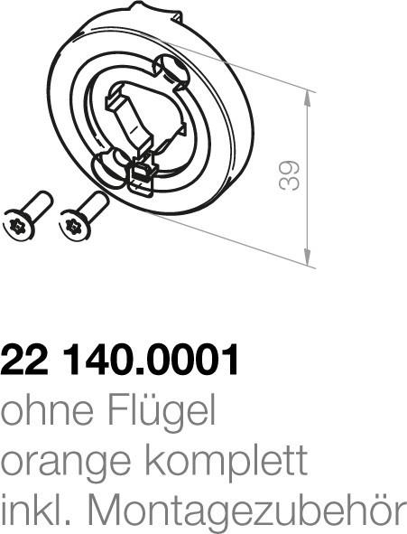 Elero  Motorlagerplatte 22140.0001