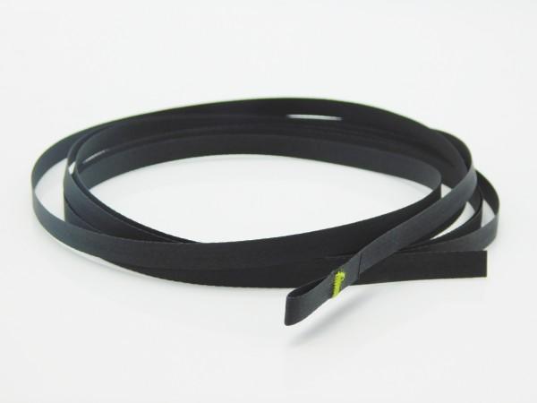 Texband Jalousieband in Schwarz 6x0,33 mm